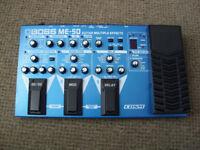 boss ME-50 multi effect unit for guitar