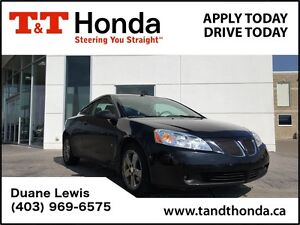 2008 Pontiac G6 C/S**GT* Local Car, Leather, Sunroof *