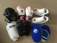 Women's kickboxing gear