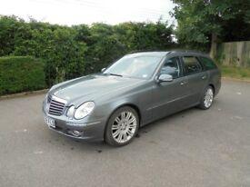 Mercedes E280 CDI Sport estate 2008 - 111,751 miles