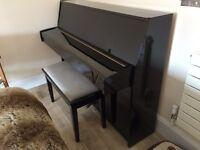 Yamaha E110N Upright Piano - hardly used