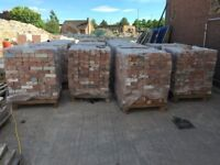 Reclaimed Bricks from 1780 - 2 inch, 2.5 inch and 3 inch