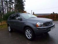 2008 08 VOLVO XC90 2.4 D5 SE GEARTRONIC AWD 7 SEATER CALL 07908275624 IN METALLIC GREY