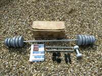 Barbells and dumbbell