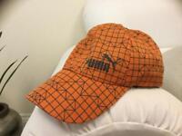 Orange Puma cap