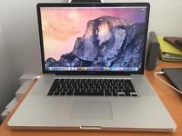 "MacBook Pro 17"" (Early 2009) with Adobe CS5 installed Ex.Cond"