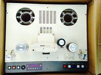 Otari MX-80 24-track tape machine complete top plate assembly