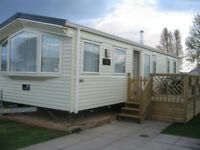 Caravans for hire at Flamingo Land