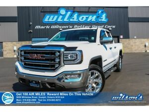 2016 GMC Sierra 1500 SLT 4X4 5.3L | NAV | LEATHER | HTD STEERING