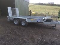 Ifor Williams Plant Trailer GH1054 Excellent Condition