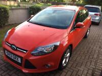 Ford Focus 1.0 petrol Zetec 125ps