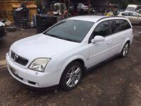 Vauxhall Vectra Estate 03-06 3.0 CDTi V6 24v SRi 5dr white(y474) X5 winf indicator breaking