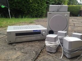 Sony 100W 5 speaker surround sound system ***incl free speaker stands***