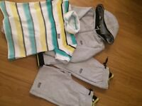 Boys age 8 Hugo boss jogging suit, shorts and t-shirt. Excellent condition.