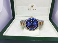 New Swiss Rolex Submariner two tone for sale!