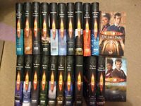 Dr Who novels and audiobooks