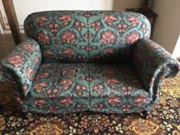 Victorian Drop Arm Sofa and Two Chairs - William Morris
