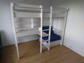 Bunk/Desk/Futon Bed.