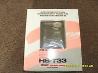 Aiwa HS-T33 personal radio cassette player - new, never used
