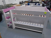 Brand New Mid Sleeper in White, Blue & White Or Pink & White. Can Deliver