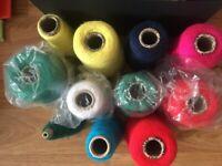 acrylic knit yarn (all)