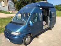 CITROEN RELAY AVA HIGHTOP FOUR BERTH CAMPER WITH ONLY 61100 MILES - METALLIC BLUE