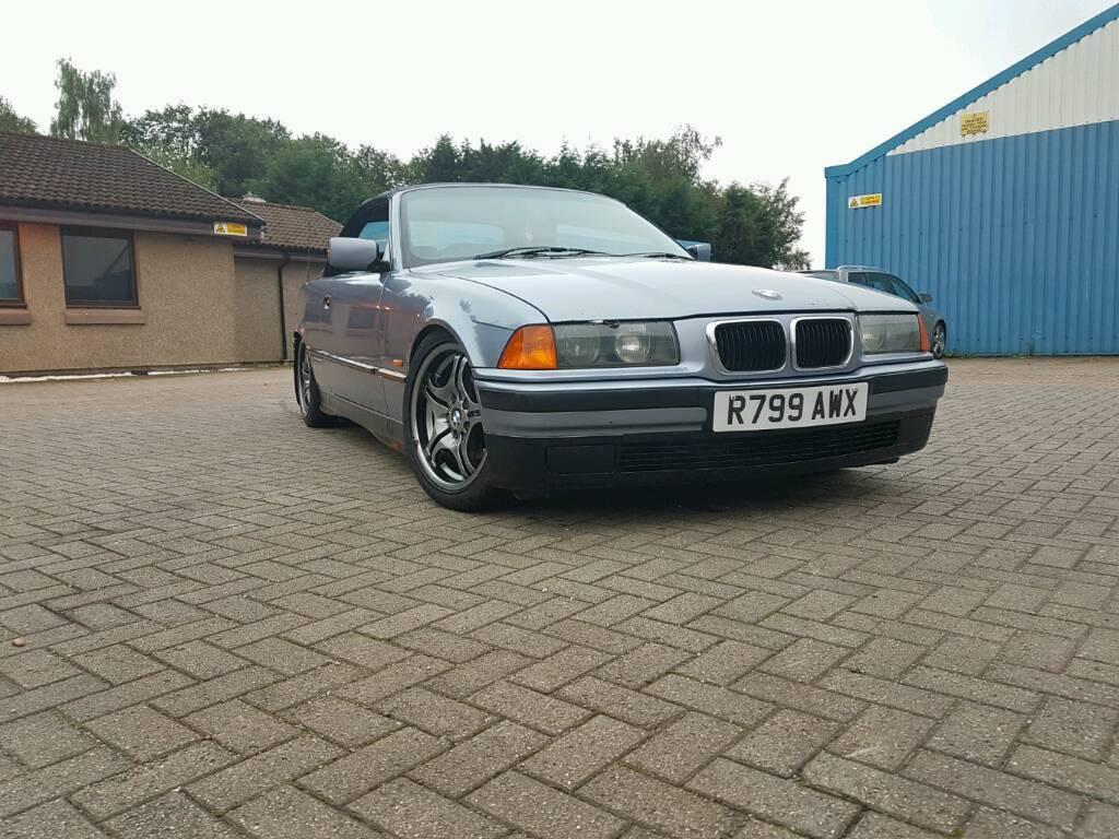 1997 bmw e36 318i convertible mot e30 e34 e46 drift may px
