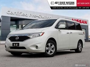 2011 Nissan Quest 3.5 SV|ALLOYS|AUX|FOG LIGHTS|TRI ZONE CLIMATE