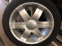 21 inch alloys wheels
