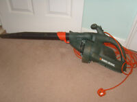 BLACK & DECKER LEAF BLOWER.