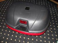 Universal Large Lextek top box for a motorcycle