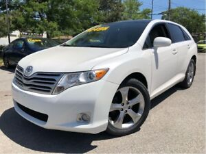 2010 Toyota Venza V6 PANORAMIC ROOF NICE CLEAN CAR LOW KMS!