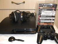 Sony PlayStation 3 slim 120GB complete
