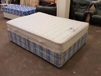 Double bed with Myer's Orion mattress