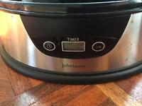 John Lewis electric 3 tiered steamer