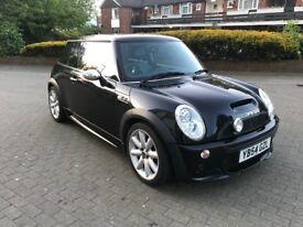 MINI COOPER S 2005 PETROL 1.6 BLACK £2350/-