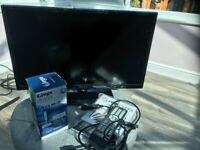 "Manta 22"" Motorhome / Caravan 12 volt TV with USB DVR and Antenna (new)"
