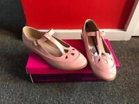 Pastel Pink Dolcis Flat Shoe