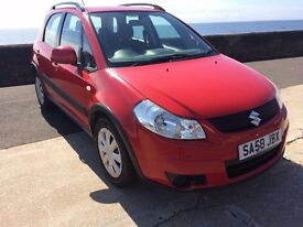 2008 (58) suzuki sx4 gl.1586 cc.5 door hatchback*full service records68000 miles*
