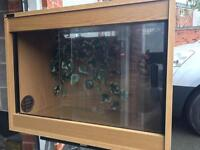 Vivarium x2 for sale with dimming thermostat