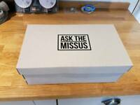"""Ask the missus"" brogues"