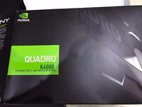 NVIDIA QUADRO K4000 GPU