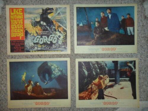 Gorgo 1961 ORIGINAL LOBBY CARD SET Horror Monster VERY GOOD COND