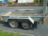 indespension 2.6 ton plant trailer
