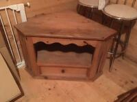 Mexican pine tv cabinet