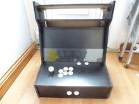 DIY Bartop Arcade (almost complete) Raspberry Pi 3 Model B LG Monitor Joystick
