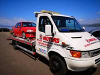 24 hour Car and Van Breakdown Recovery Service.