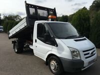 Ford transit tipper 100t350 2009 122,000 miles 1 owner full service history no vat