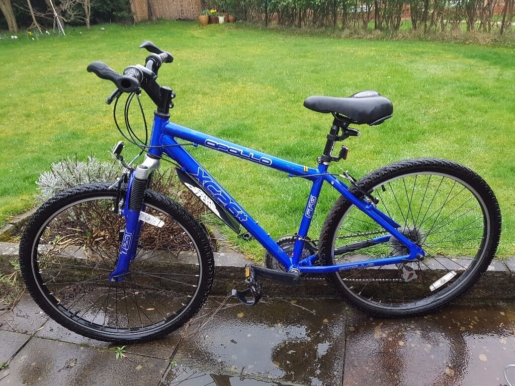 Apollo Xc26 Ladies Womens Mountain Bike With Extras In Reddish