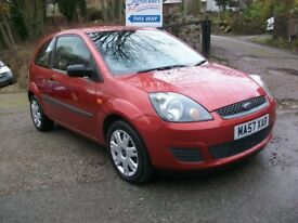 FORD FIESTA 1.25 STYLE 2007/57 REG, GOOD COLOUR TANGO